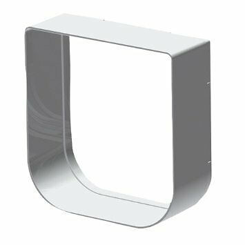 Ferplast Tunnel d'Extension Modulable pour Chatières Swing 1 Blanc