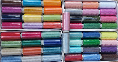 50 x Spools of  Embroidery Machine Thread for Brother,Janome more - Best Quality