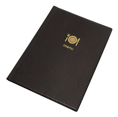 10 X MENU COVER A4 up to 12 pages PUB menu couverture holder signs RESTAURANT