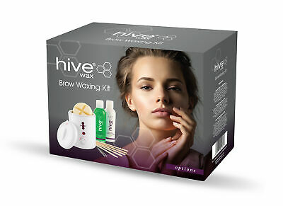 Hive Options Wax Brow Waxing Kit Eyebrows Face Set