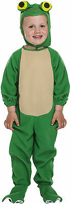 Frog Animal Dressing Up Costume Kids Fancy Dress Toddlers Boys Girls 3 Years