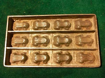 Frog Flat Chocolate Mold Mould