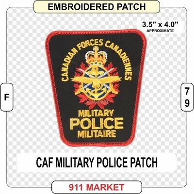Military Police Patch CAF Canadian Armed Forces MP Canadiennes Militaire - E37