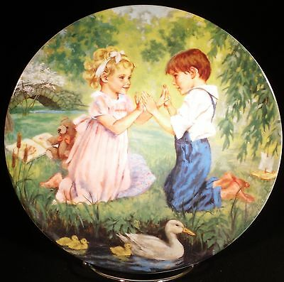 """""""Pat-a-Cake"""" 7th Issue in the """"The Treasured Songs of Childhood"""" Collector Plate"""