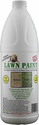 Lawn Paint 32 Ounce concentrate, covers 1,000 square feet!