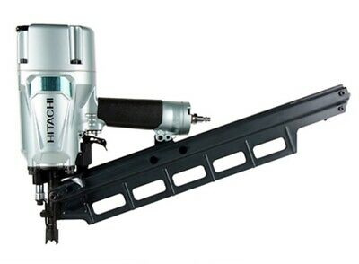 "Hitachi NR83A3(S) 3-1/4"" Plastic Collated Pneumatic Framing Nailer 22 21 20 DEG"