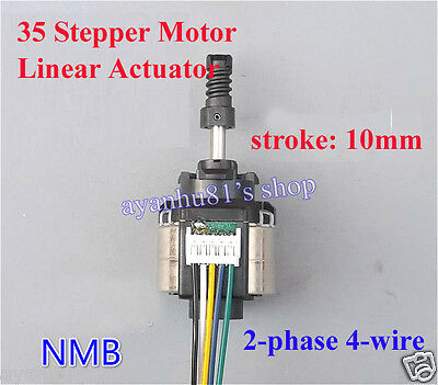 NMB Linear Actuator 2-phase 4-wire Stepper Motor 5V-9V 6V put pull motor For DIY