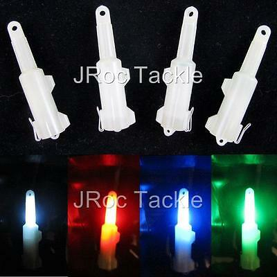 4 Nocculescent Flashing LED Light Fishing Bait Lure Fish Attract water activated