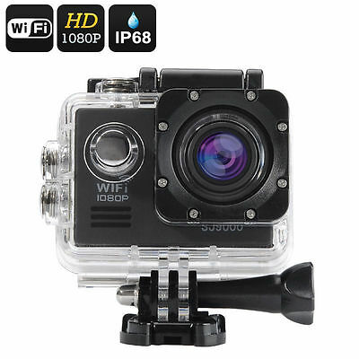 Fotocamera digitale subacquea FULL HD 1080P fotocamere WIFI waterproof wireless