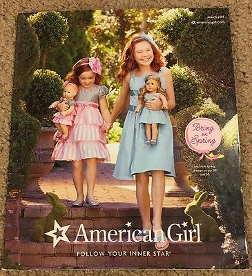 American Girl 2014 Catalog Featuring Isabelle! Spring and Sports Sets!