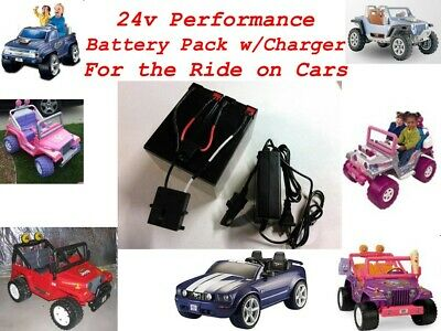 24V Conversion Kit UPGRADE Power Wheels (Battery/Charger) $20 CASH BACK Option