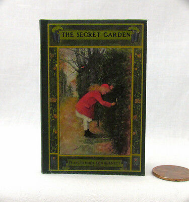 THE SECRET GARDEN Book in 1:3 Scale Readable Book Doll American Girl Accessories