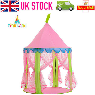 �� Princess Party Pop Up Play Tent Playhouse Wigwam Children Kids Indoor Outdoor
