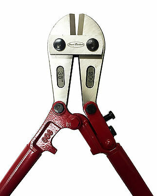 """36"""" HEAVY DUTY CHAIN BOLT CUTTERS 900mm croppers DROP FORGED HEADS"""