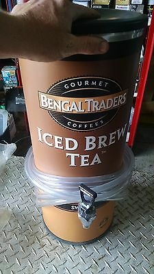 Syrup Tea urn Bengal traders iced tea urn