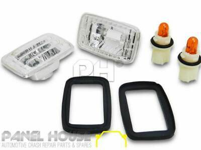 Toyota Hilux Ute '01-'05 Clear Side Indicator Light Altezza Crystal SET & Globes