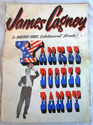"Movie Campaign Book for  ""Yankee Doodle Dandy"" James Cagney"