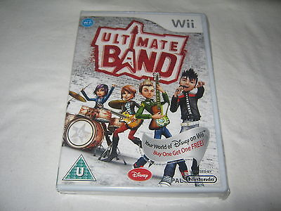 Ultimate Band - Brand New & Sealed - Nintendo Wii - Game