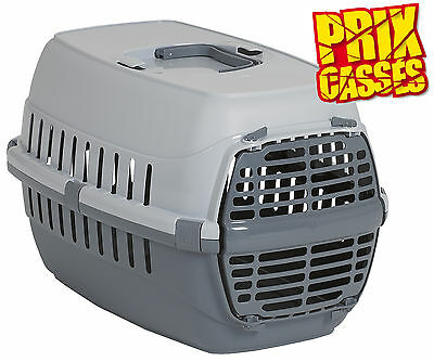 PANIER CAGE DE TRANSPORT POUR PETIT CHIEN ou CHAT AUTO-TRAIN-AVION AS97414NOIR