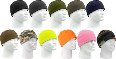 Rothco Deluxe Soft Polar Fleece Beanie Watch Cap GI Type Ski Hunting Fishing Hat