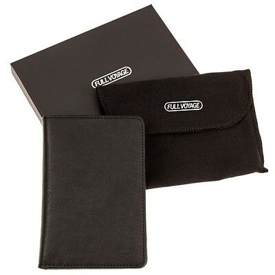 Leather Passport Case Cover RFID Holder ID Credit Card Protect Travel Men Women