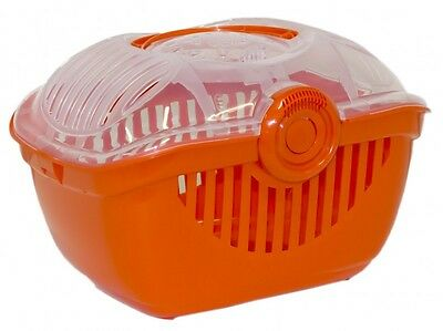 PANIER DE TRANSPORT POUR CHAT-CAISSE DE TRANSPORT CHAT Réf AS97430ORANGE