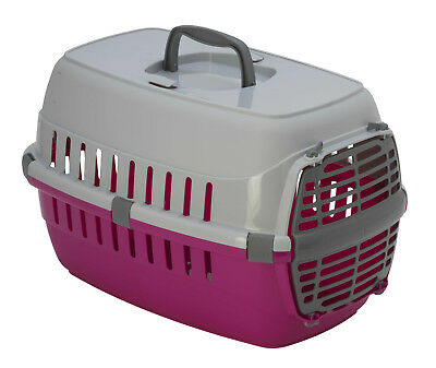 PANIER CAGE DE TRANSPORT POUR PETIT CHIEN ou CHAT AUTO-TRAIN-AVION AS97414FICO