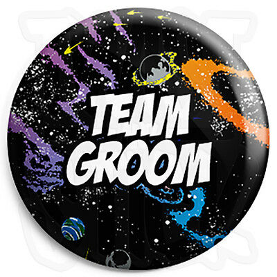 25mm Tattoo Wedding Button Badge with Fridge Magnet Option Mother of the Groom