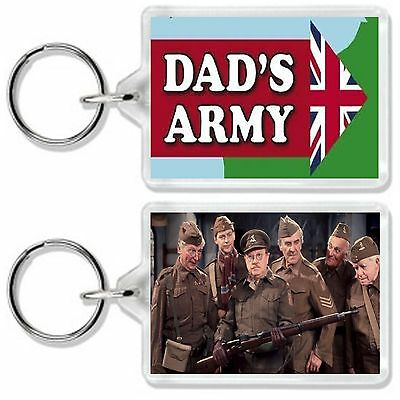Dads Army Classic 70S Tv Show And Dvd Keyring Uk Seller