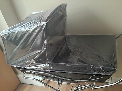Full Rain Cover For Coach Built Silver Cross Windsor Marlborough Pram Spares