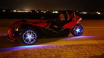 Wheel Lights for Polaris Slingshot - Remote Control - FIts 3 Wheels by GloRyder