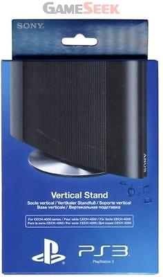 Official Sony Playstation 3 Vertical Stand For Super Slim Ps3 Consoles - Ps3 New