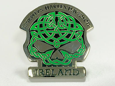 Murphy's Harley Davidson Celtic Willie-G Pin