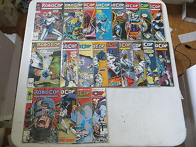Robocop The Future Of Law Enforcement 22 Issue Comic Run 1-22 Marvel