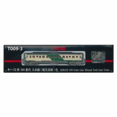 Rokuhan T009-3 Z Scale Diesel Train KIHA 52-100 Ooito Line Color Japan new .