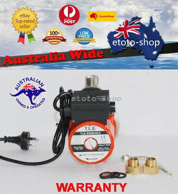 Staliness Steel Automatic Hot Water Booster Pump - Gravity Fed Hot Water System