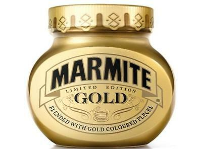 12 Jars of Marmite - Gold -Sealed and Unopened - Limited Edition -Mint condition