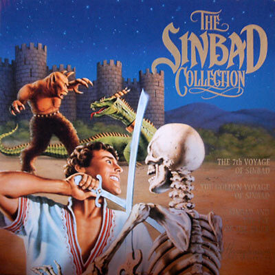 Sinbad Collection (The) Box Set N&s Neuf - Ntsc Laserdisc