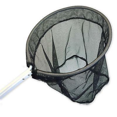 Fish Catch Nets + Pond Cleaning / Catching Landing Circular Net - 93cm Handle