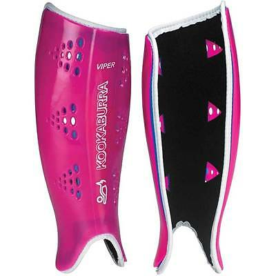 Kookaburra Viper Hockey Shin Guards (Pink)