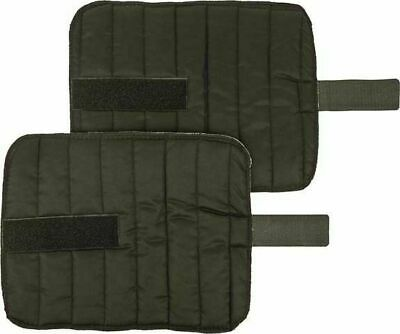 HKM Breathable Padded Bandage Pads/Liners With Velcro - Set of 2