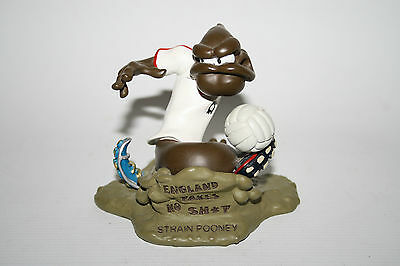 The Turds Figurines Strain Pooney Wayne Rooney Collectables Football Fan White