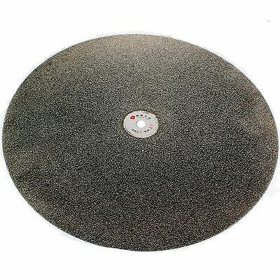 "12"" inch 300mm Grit 46 Very Coarse Diamond Coated Flat Lap Disk Grinding Wheel"