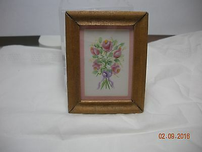 Dollhouseminiature Inch Scale Floral Painting