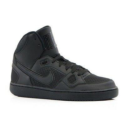 Nike Son Of Force Mid Black Gs Kids Sz 4-7 Y  * 615158-021 *