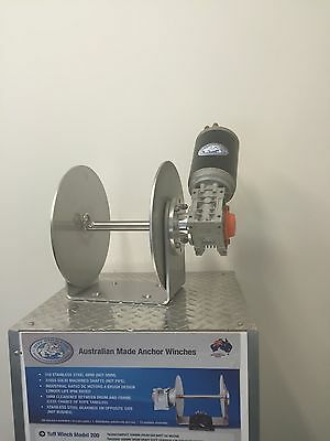 Electric Anchor Winch DRUM WINCH Australian Made with loom