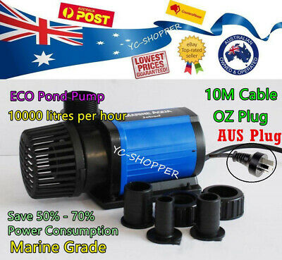 Jebao ECO DM 10,000L/H Soft Solid Water Feature Pond Pump 65% Energy Saving