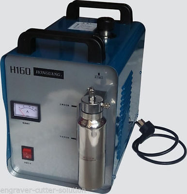 300W Portable Oxygen Hydrogen Flame Generator Acrylic Polishing Machine 75L 110V