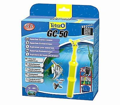 Tetra GC50 Aquarium Gravel Cleaner Easy Start Water Siphon 180cm Hose 50-400L