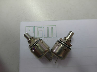 1x 10K Potentiometer  Lin61CF Metall Achse D4mm, DRALORIC ( Lager G346)